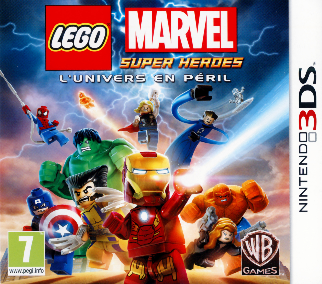 Lego Marvel Super Heroes 3DS occasion