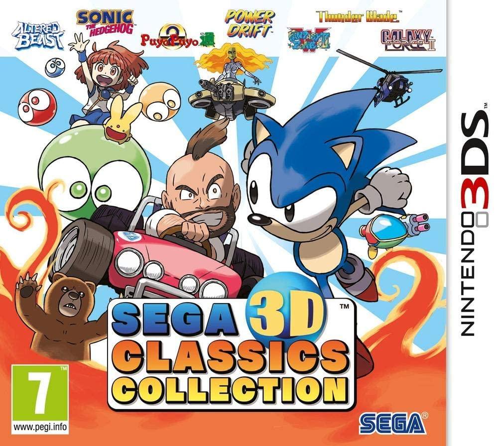 Sega 3D Classics Collection 3DS occasion