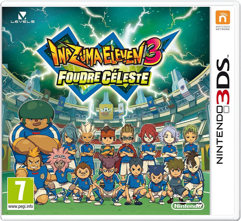 Inazuma Eleven 3 Foudre Céleste 3DS occasion