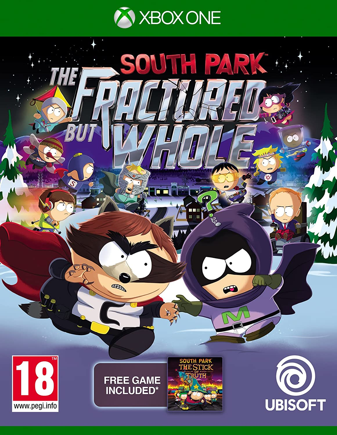 South Park The Fractured but Whole Xbox One occasion