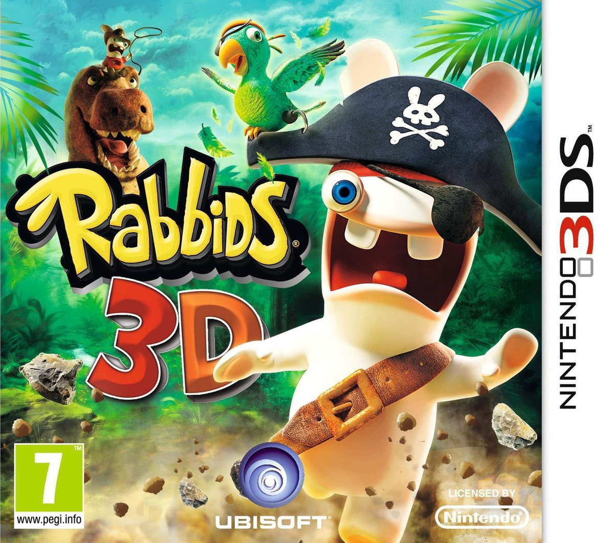 Rabbids 3D 3DS occasion