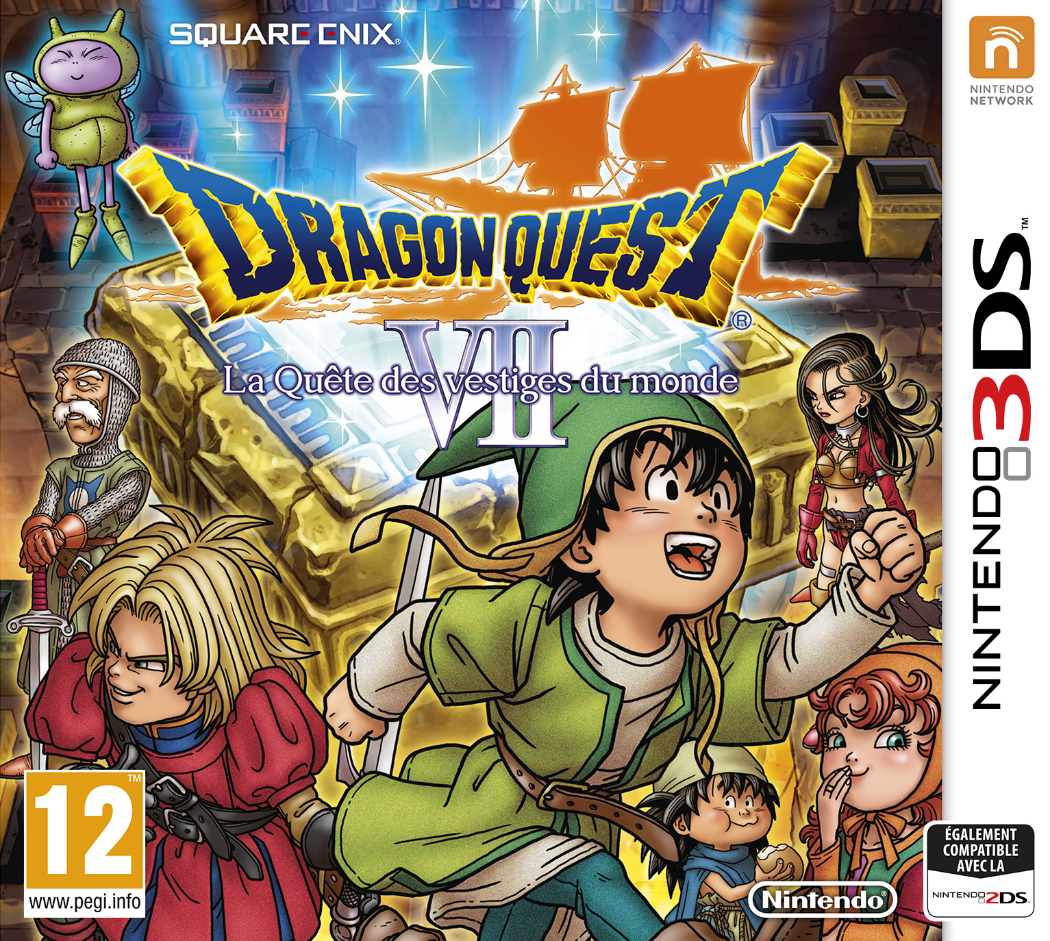 Dragon Quest VII La Quête des Vestiges du Monde 3DS occasion