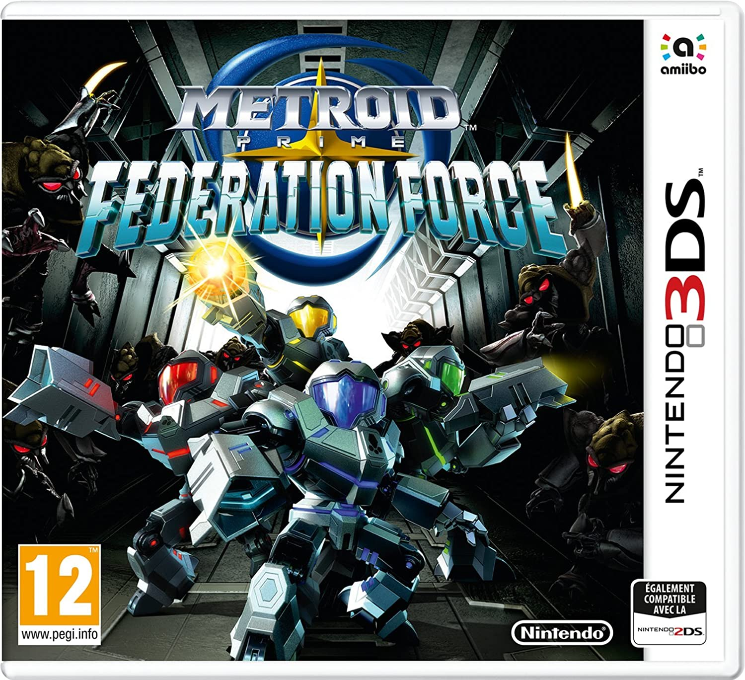 Metroid Prime Federation Force 3DS occasion