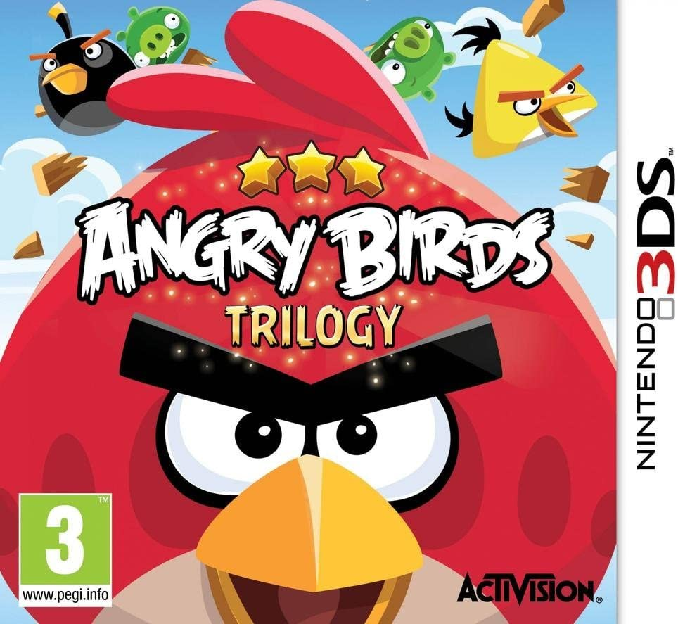 Angry Birds Trilogy 3DS occasion