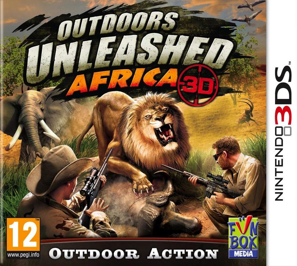 Outdoors Unleashed Africa 3D 3DS occasion