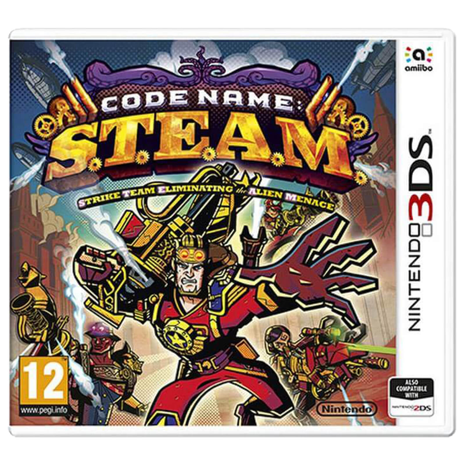 Code Name S.T.E.A.M. 3DS occasion