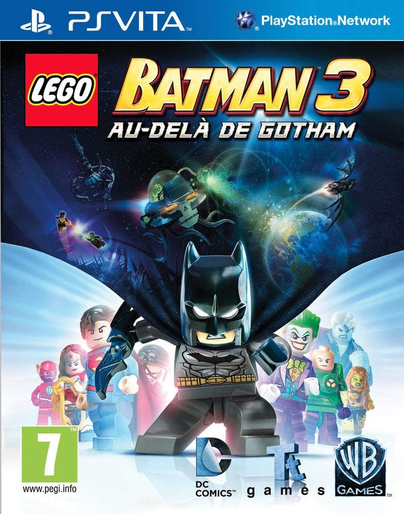 Lego Batman 3 Au-delà de Gotham PS Vita