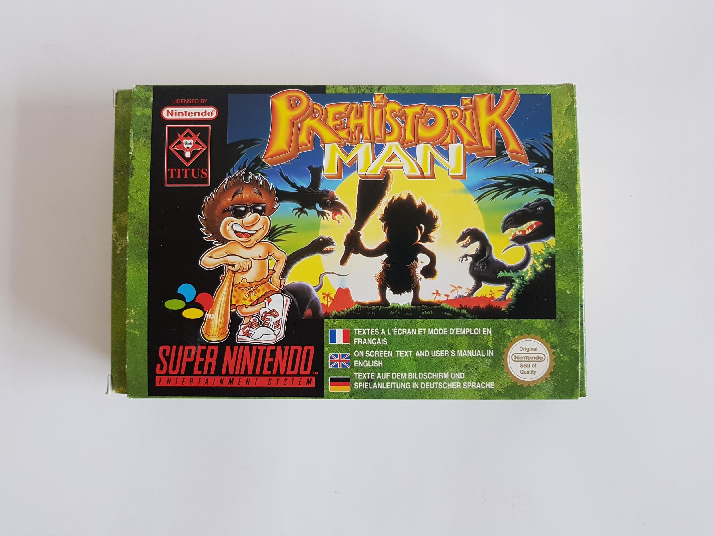 Prehistorik Man Super Nintendo occasion