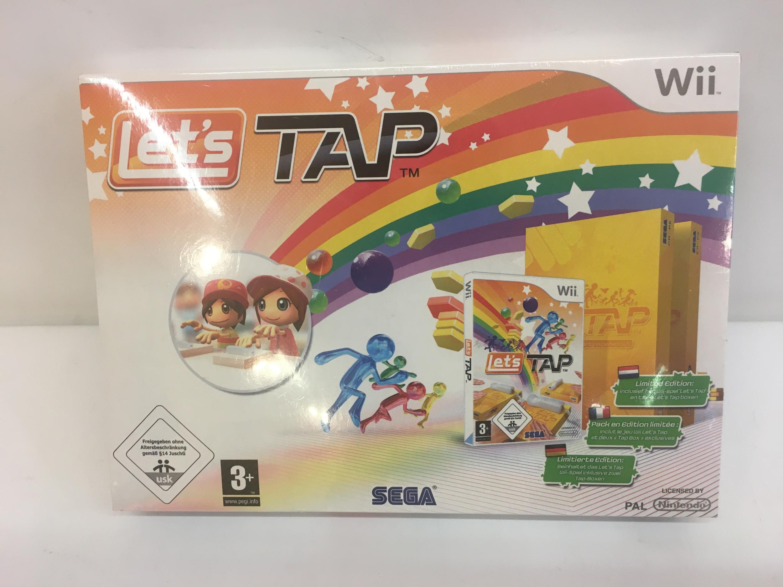 Let\'s Tap Edition Limitée Wii