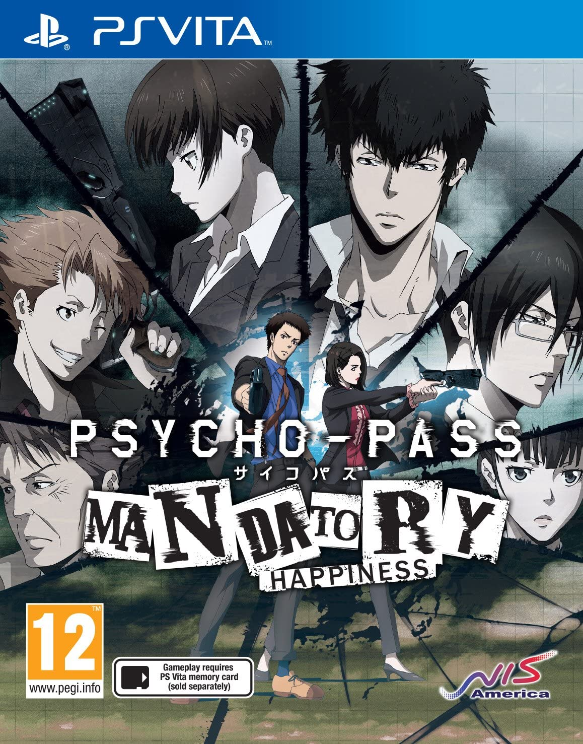Psycho-Pass Mandatory Happiness PS Vita