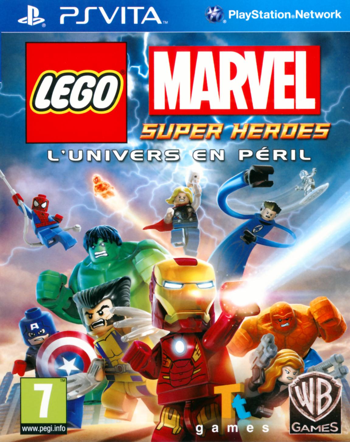 Lego Marvel Super Heroes L\'Univers en Péril PS Vita