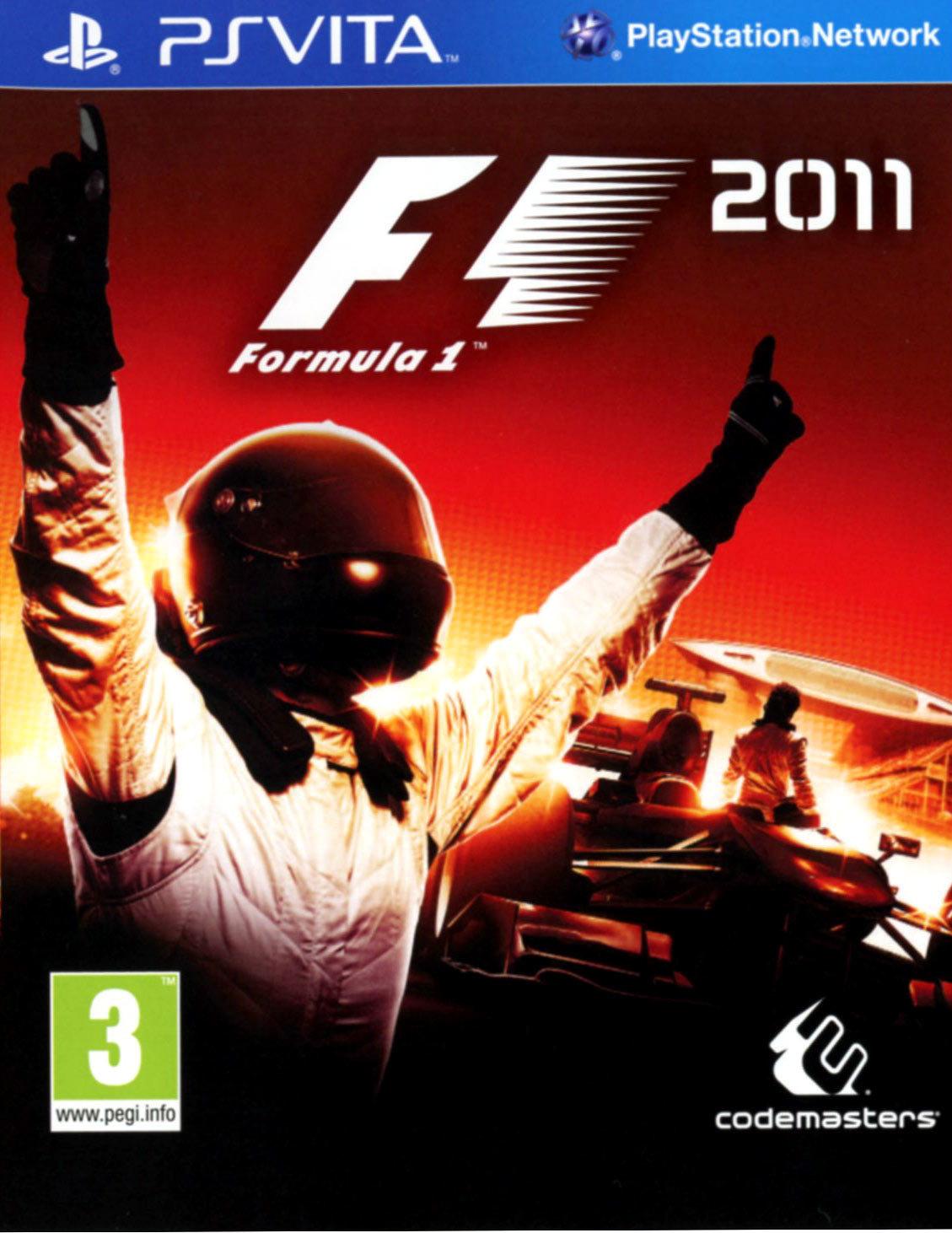 F1 2011 PS Vita occasion