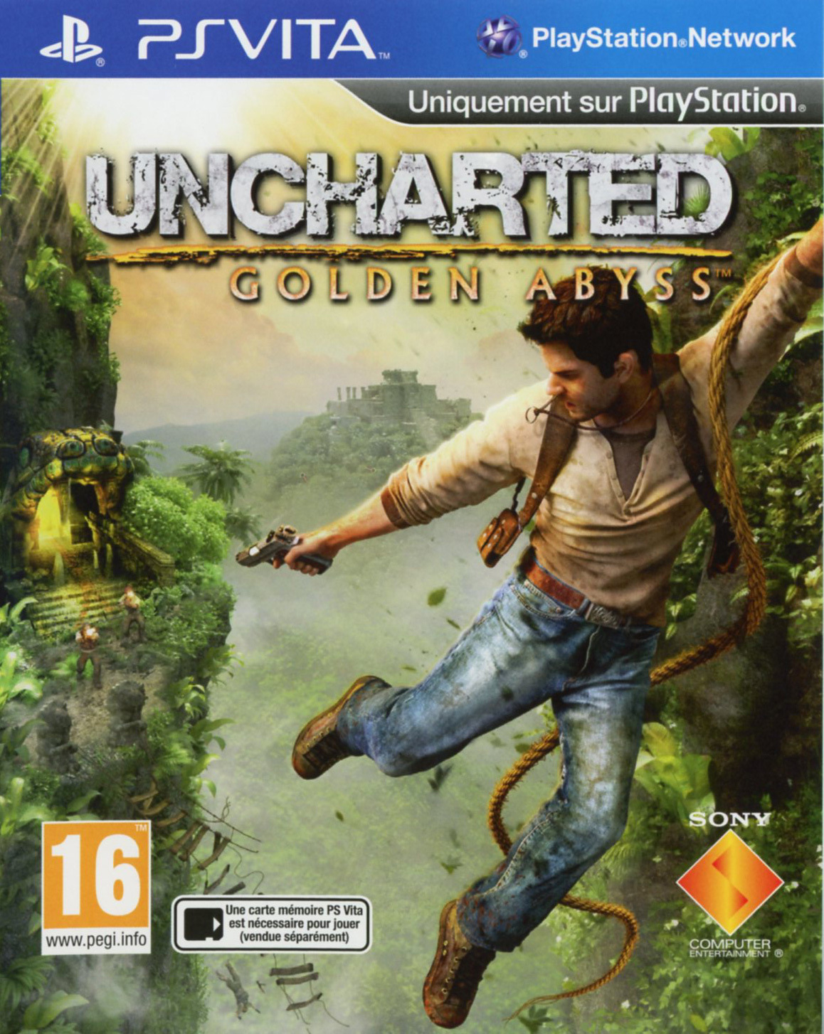 Uncharted Golden Abyss PS Vita occasion