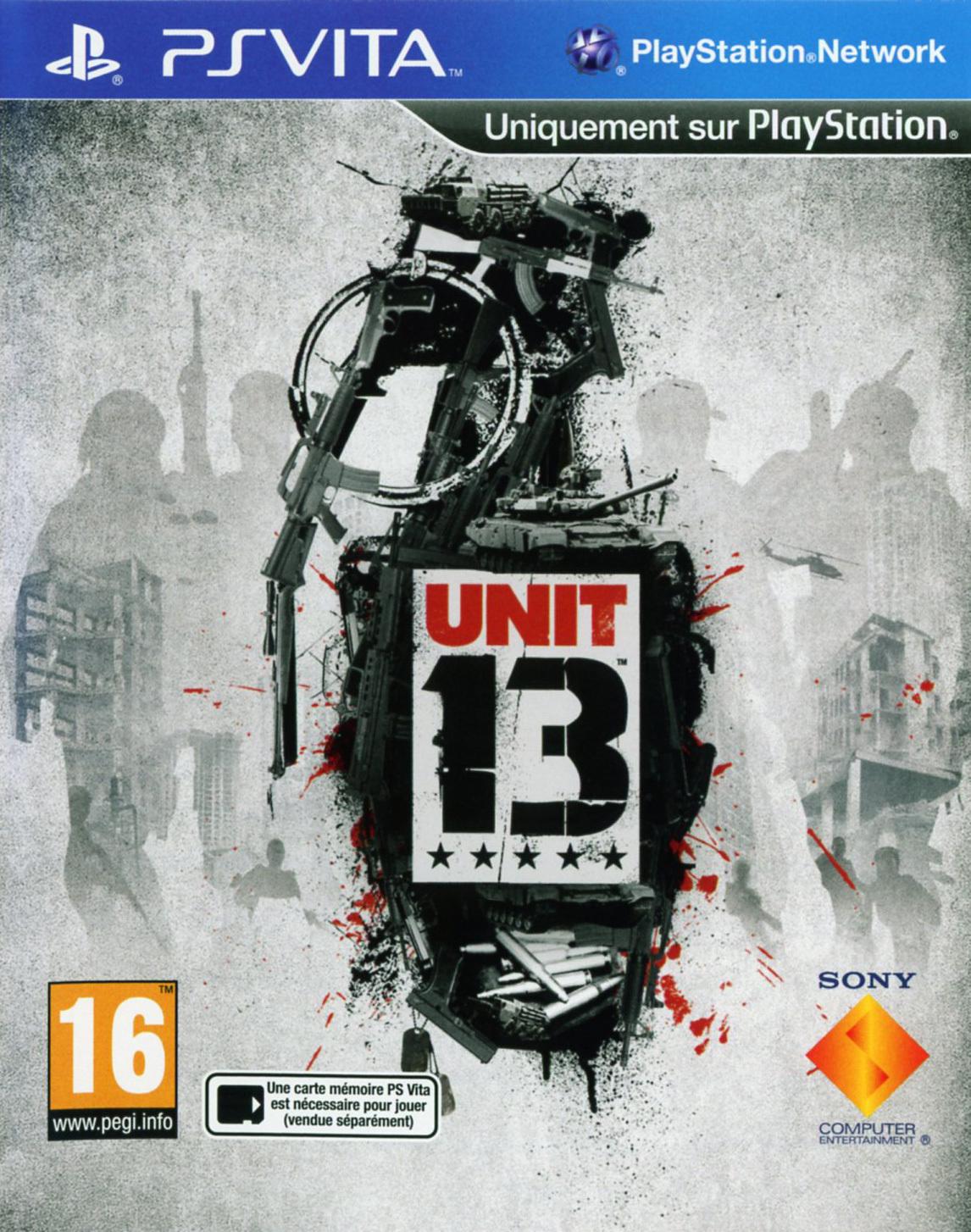 Unit 13 PS Vita occasion