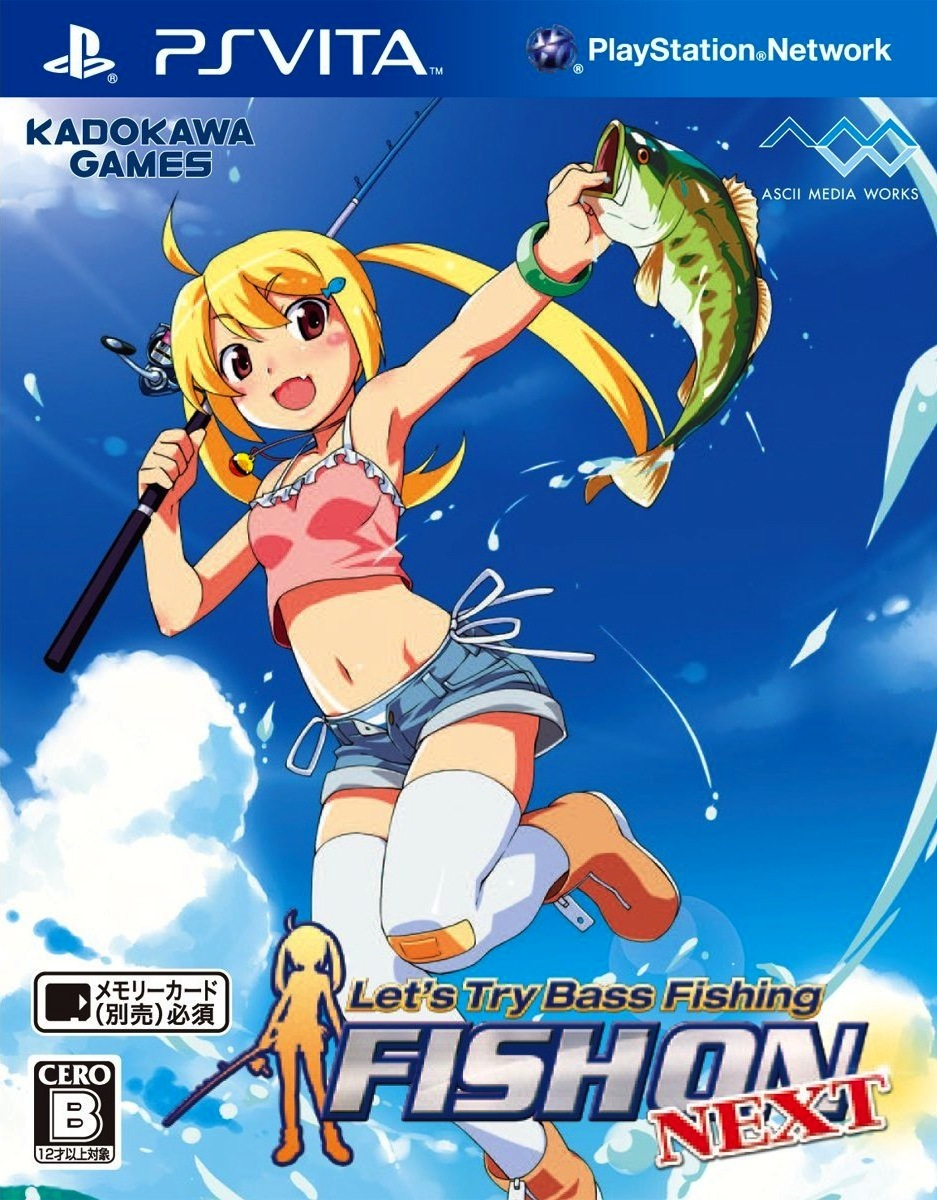Let\'s Fish ! Hooked On PS Vita occasion