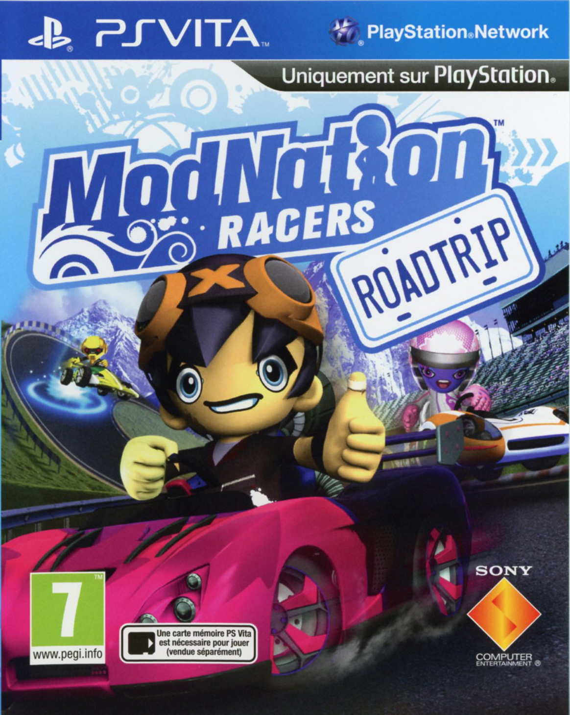ModNation Racers Roadtrip PS Vita occasion