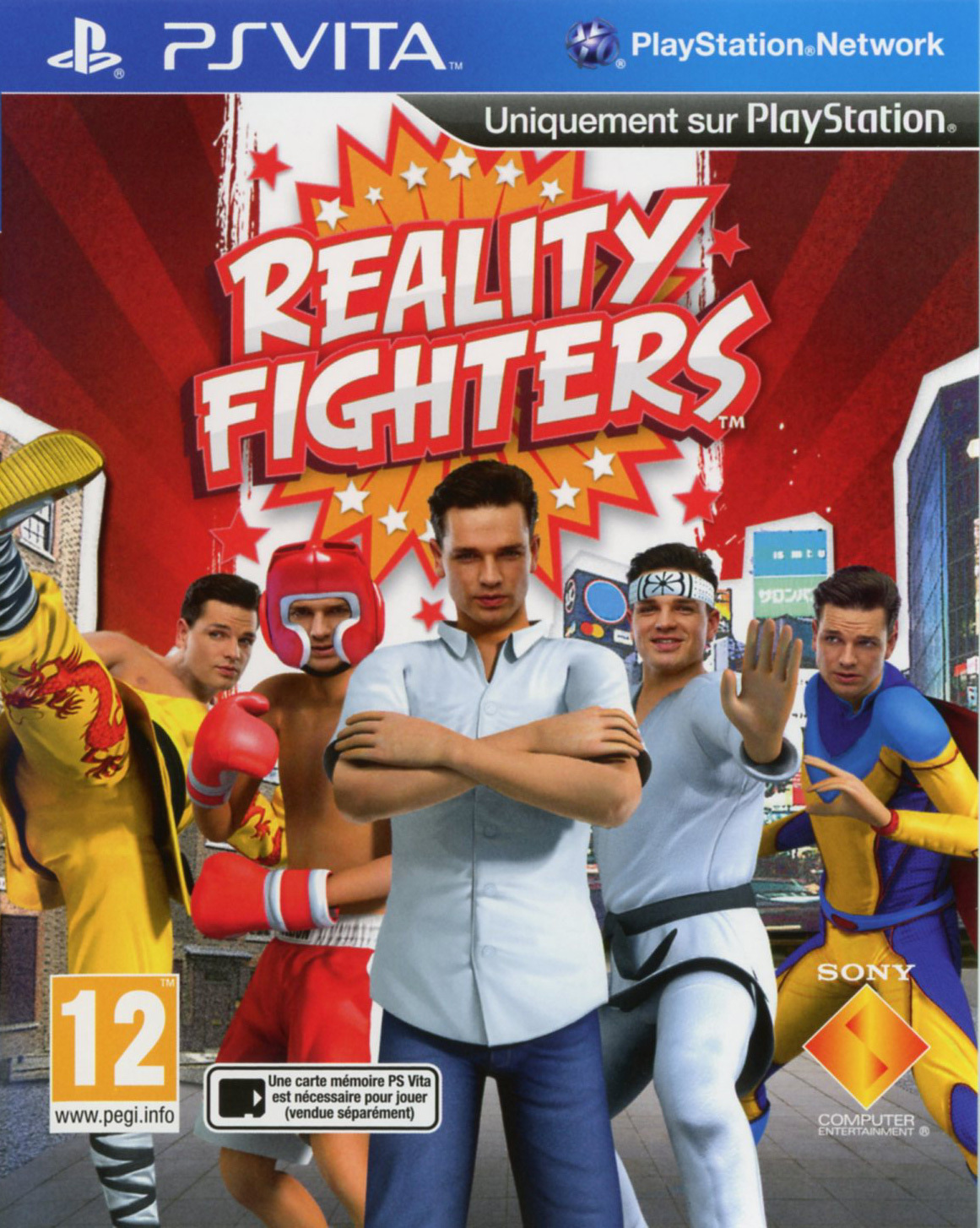 Reality Fighters PS Vita occasion