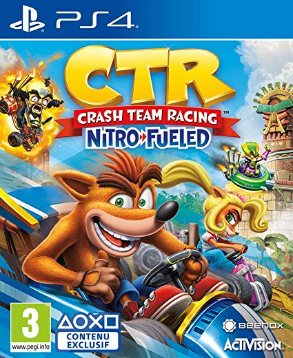 Crash Team Racing Nitro Fueled PS4 occasion