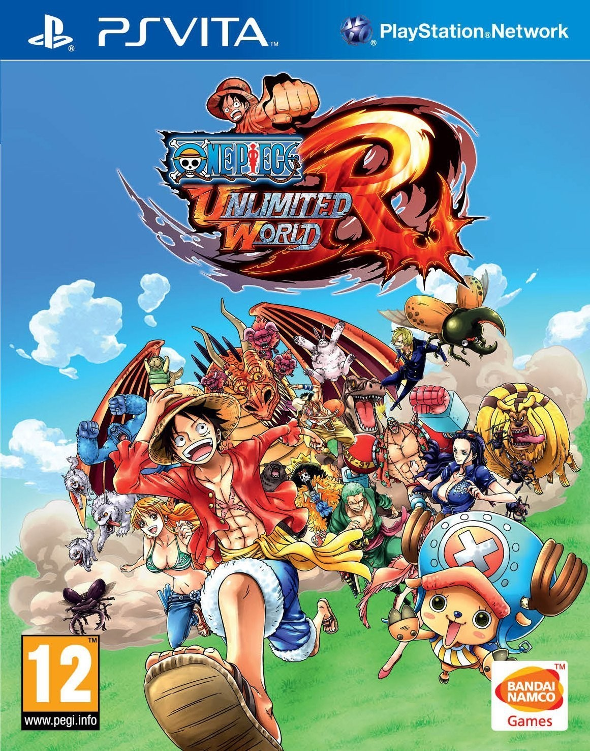 One Piece Unlimited World Red PS Vita occasion