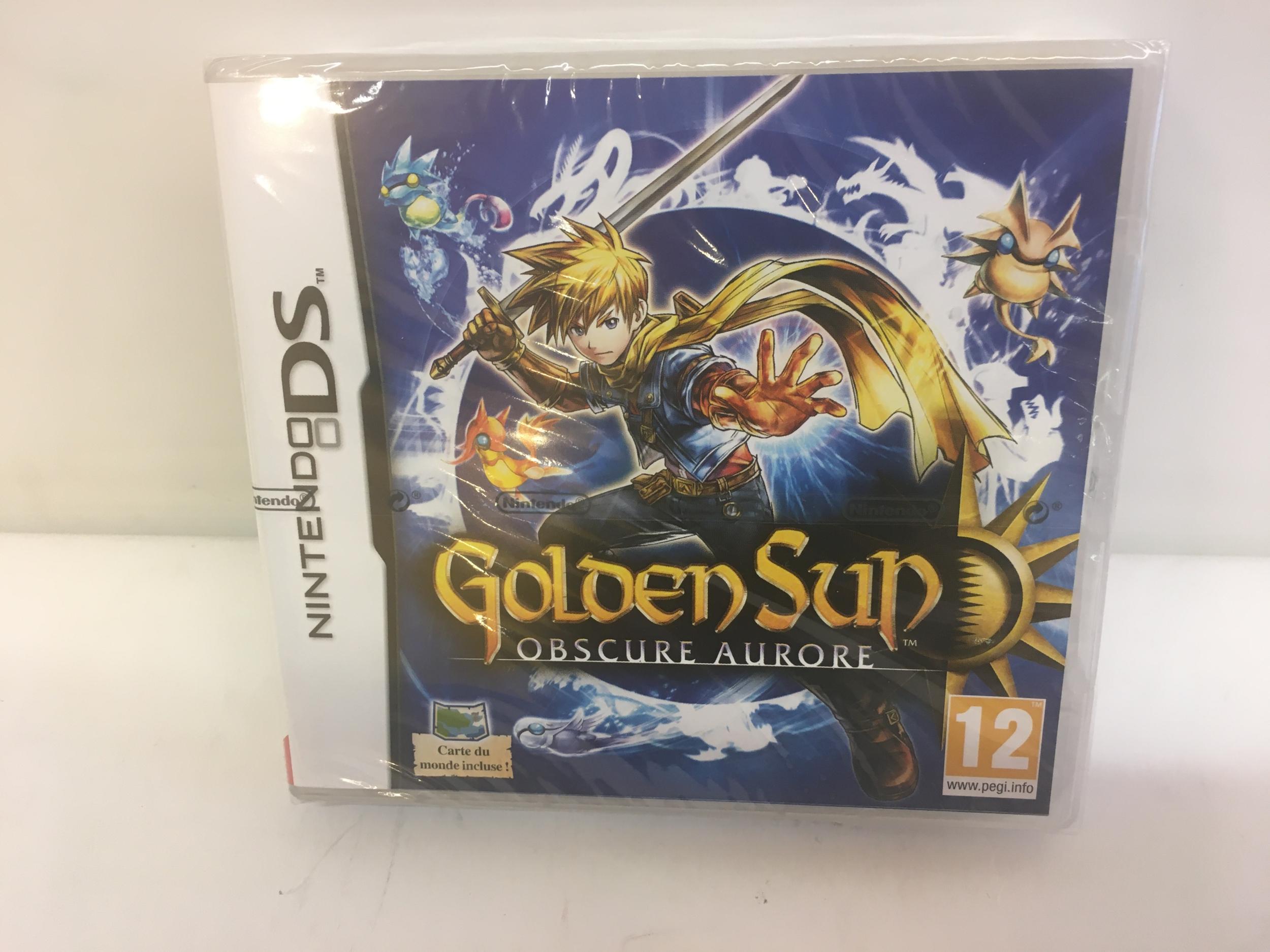 Golden Sun Obscure Aurore DS
