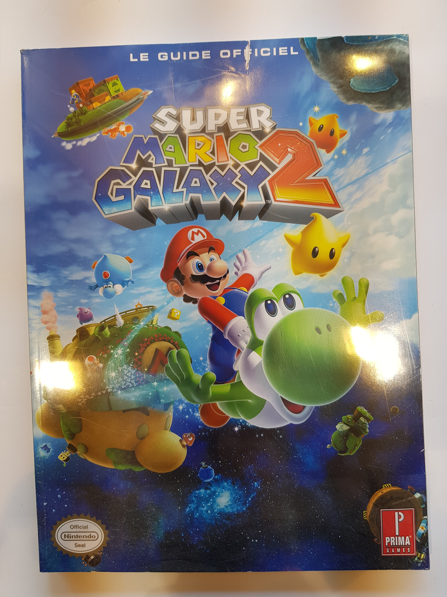 Guide Super Mario Galaxy 2 FR Neuf