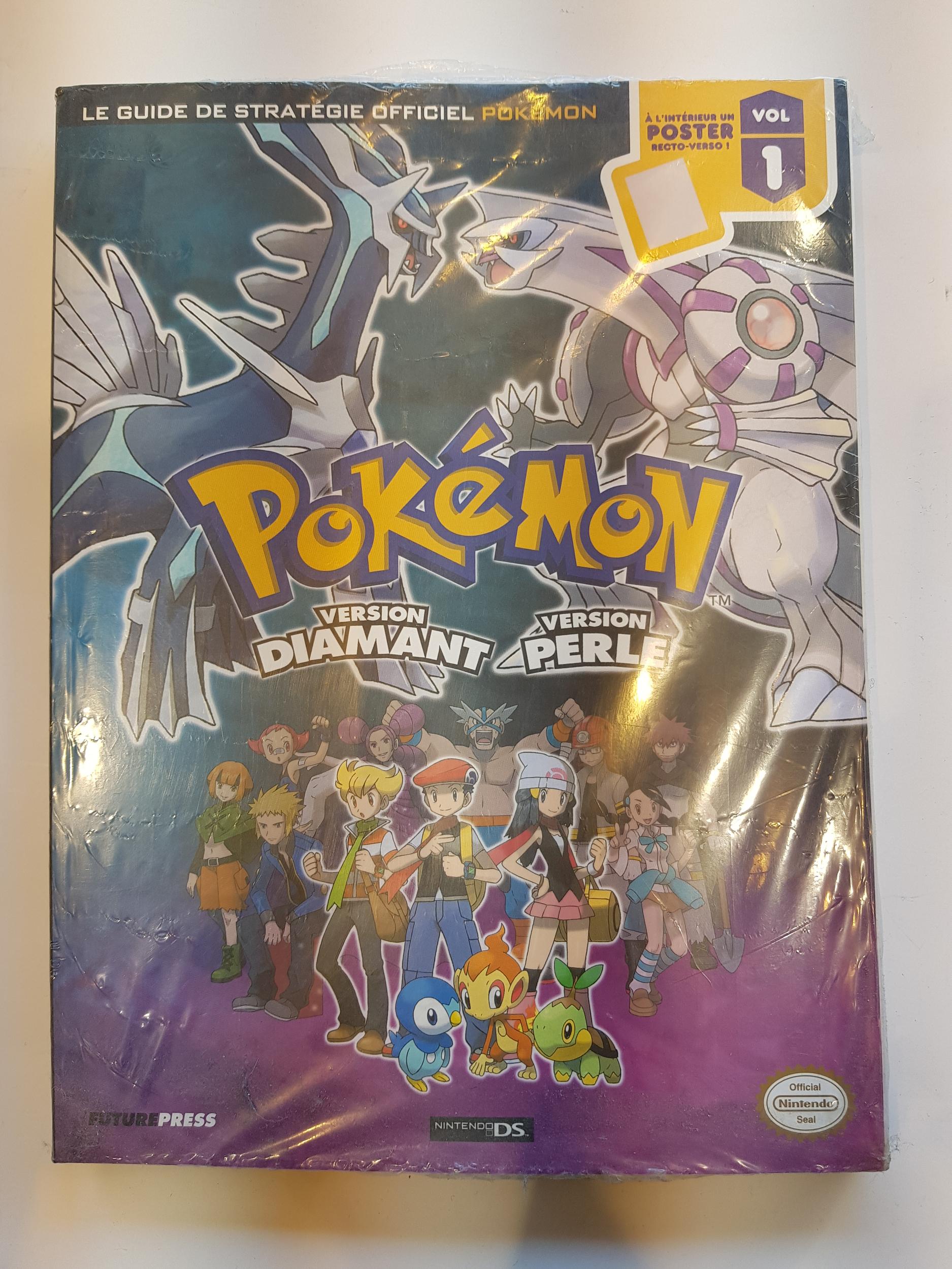 Guide Pokémon Version Diamant et Perle Neuf FR