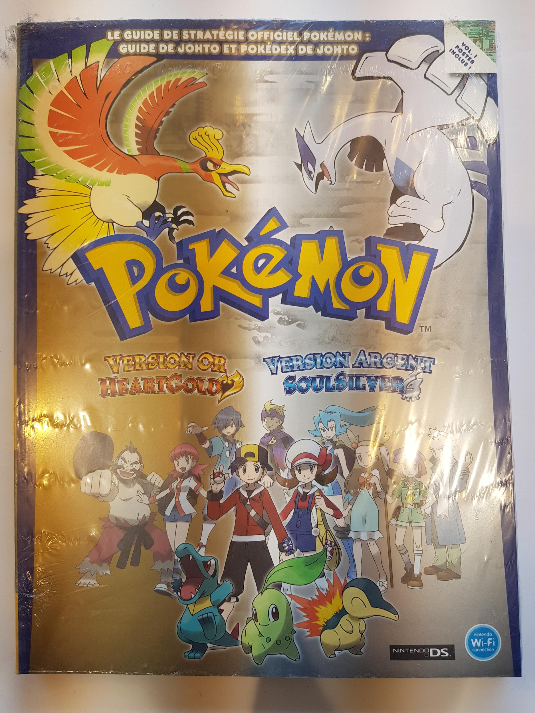 Guide Pokémon Version Or et Argent Neuf FR
