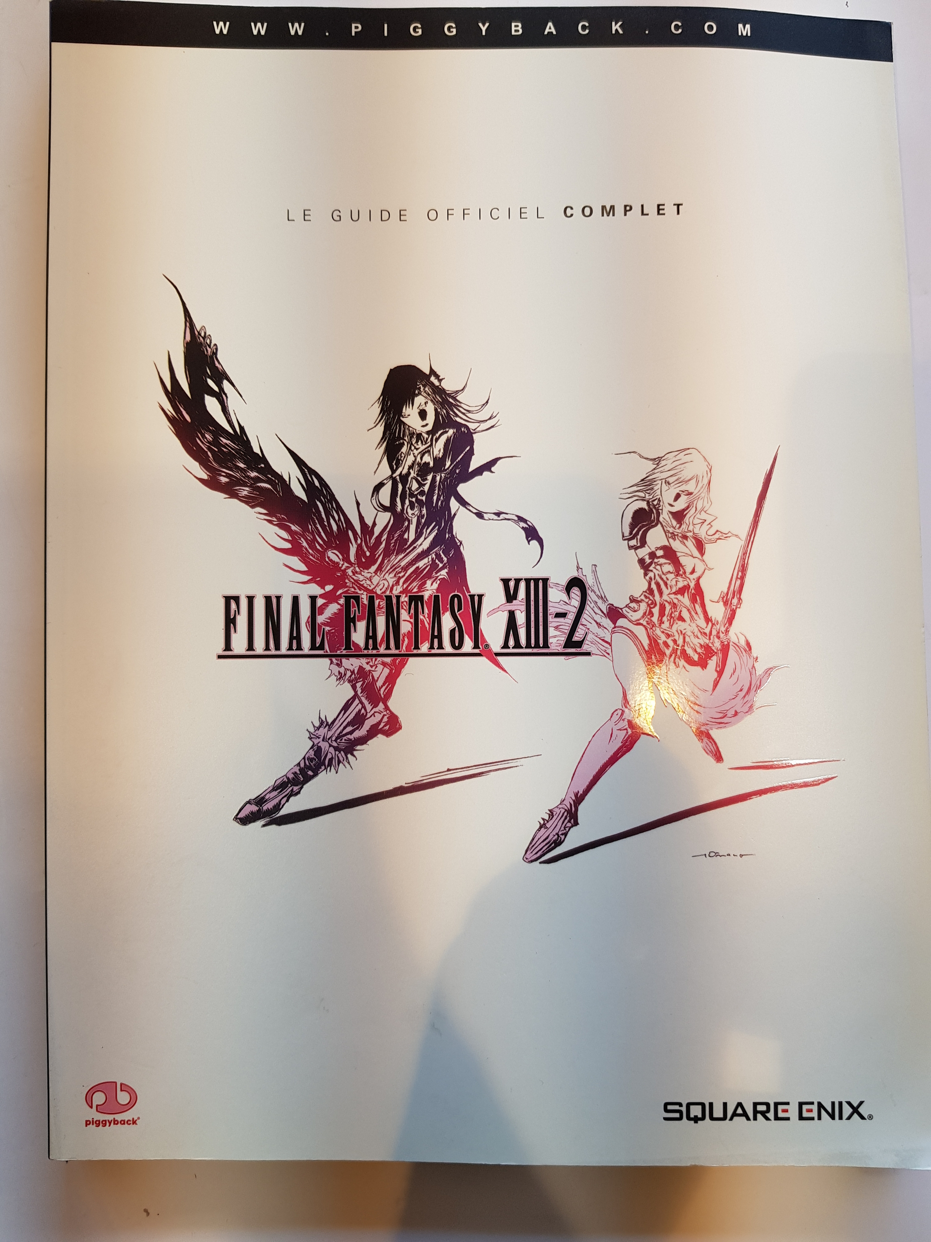 Guide Officiel Final Fantasy XIII-2 Neuf FR