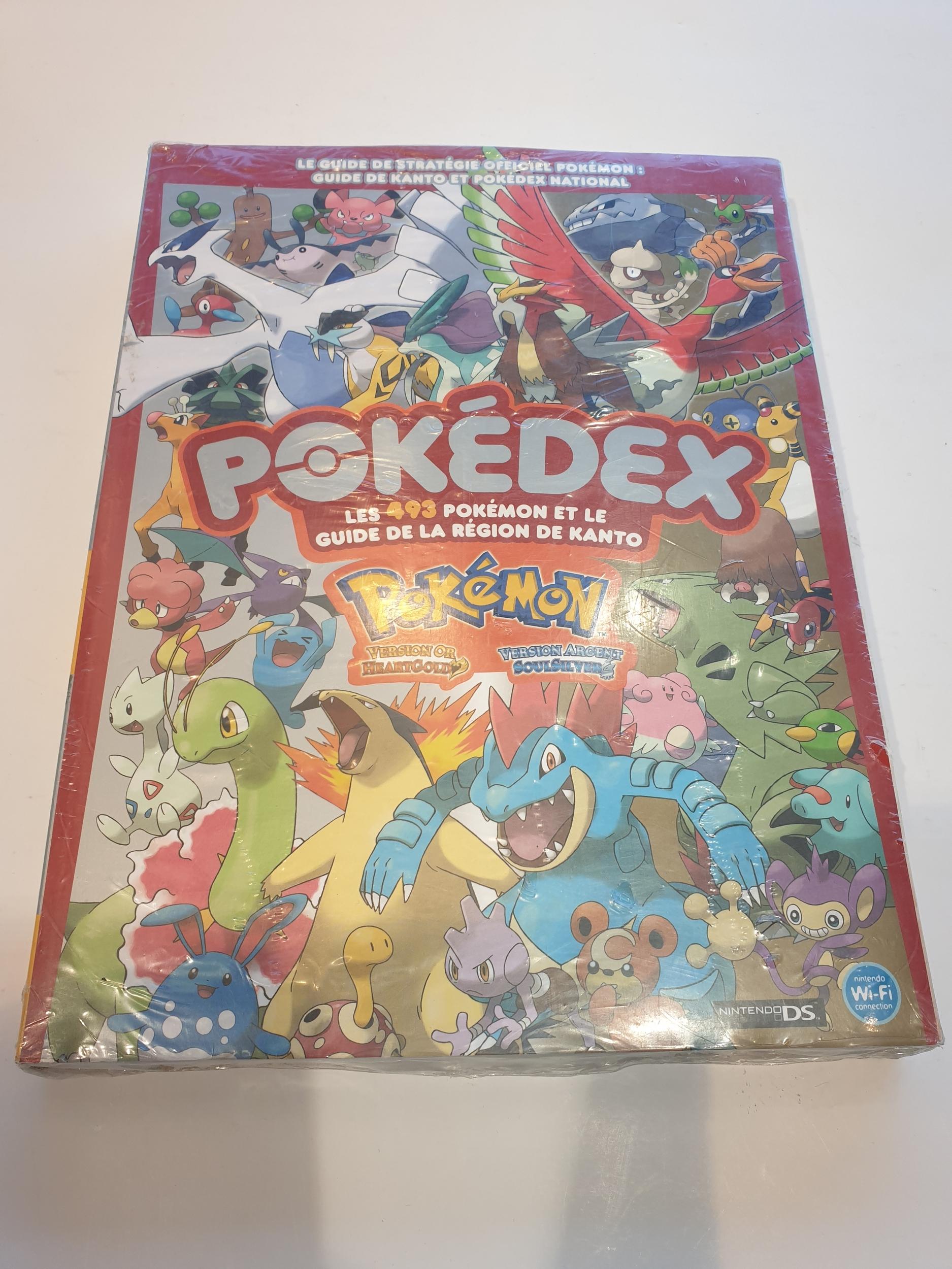 Guide Pokedex Pokemon GoldHeart and SoulSilver