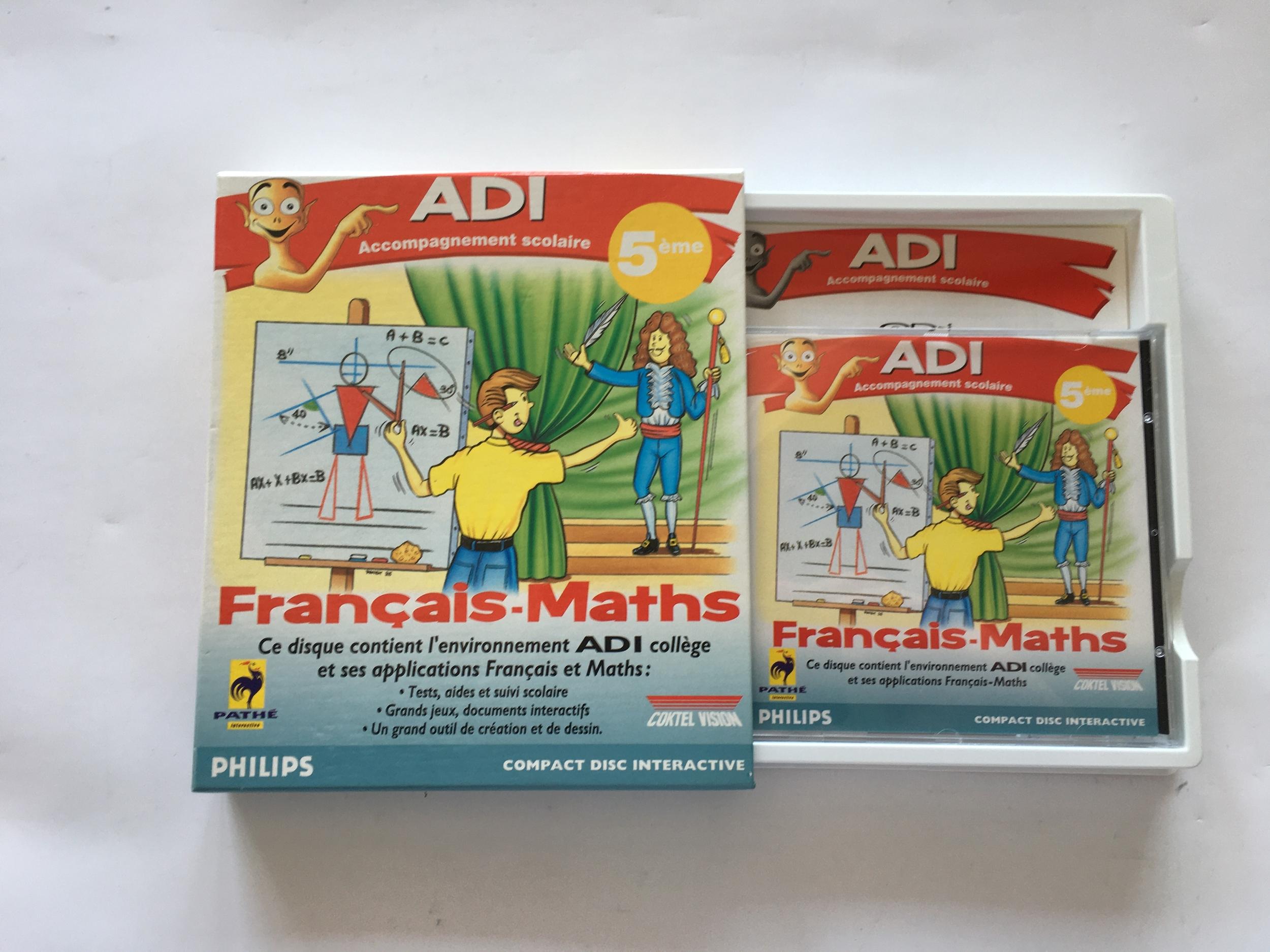 ADI Français Maths 5e CD-i