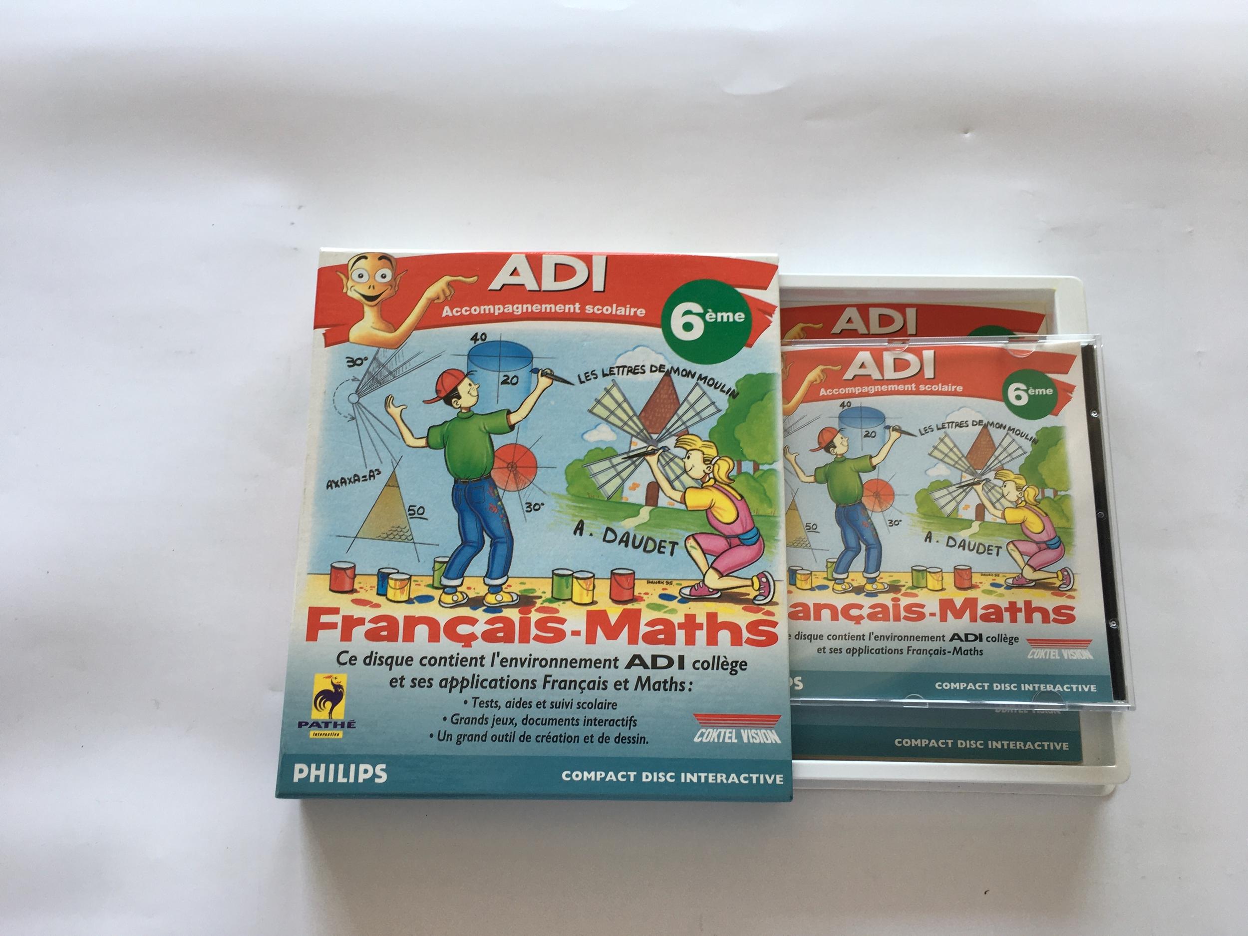 ADI Français Maths 6e CD-i