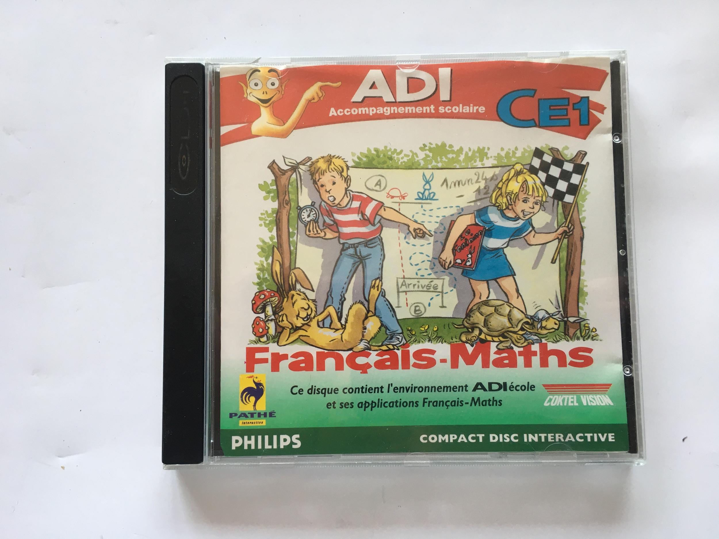 ADI Français Maths CE1 CD-i