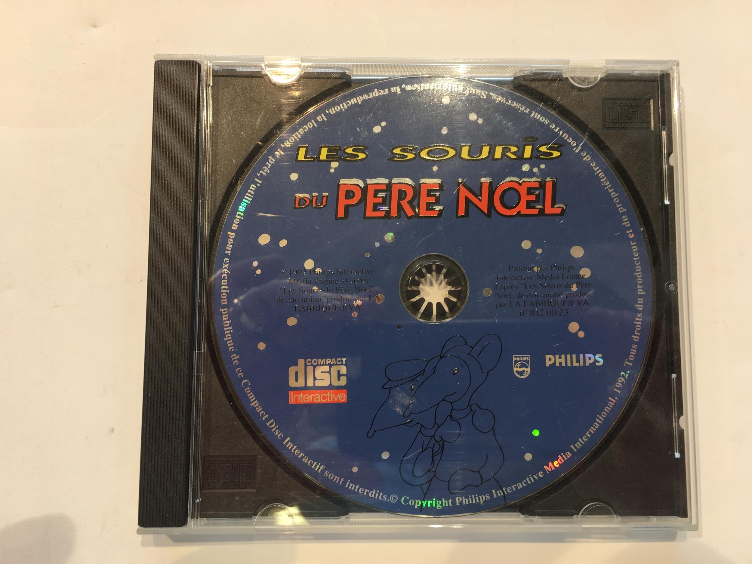 Les Souris du Père Noël CD-i