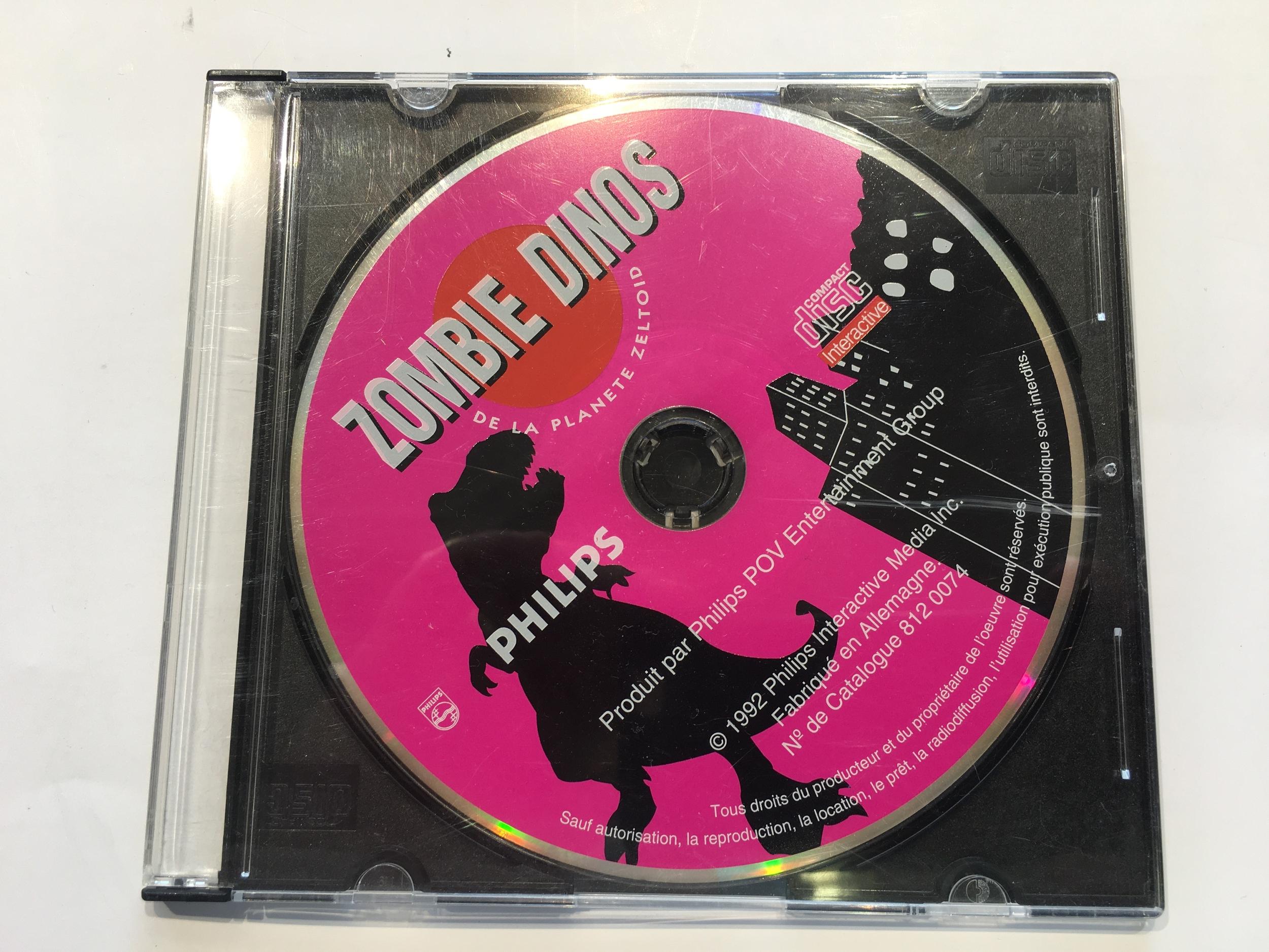Zombie Dinos CD-i