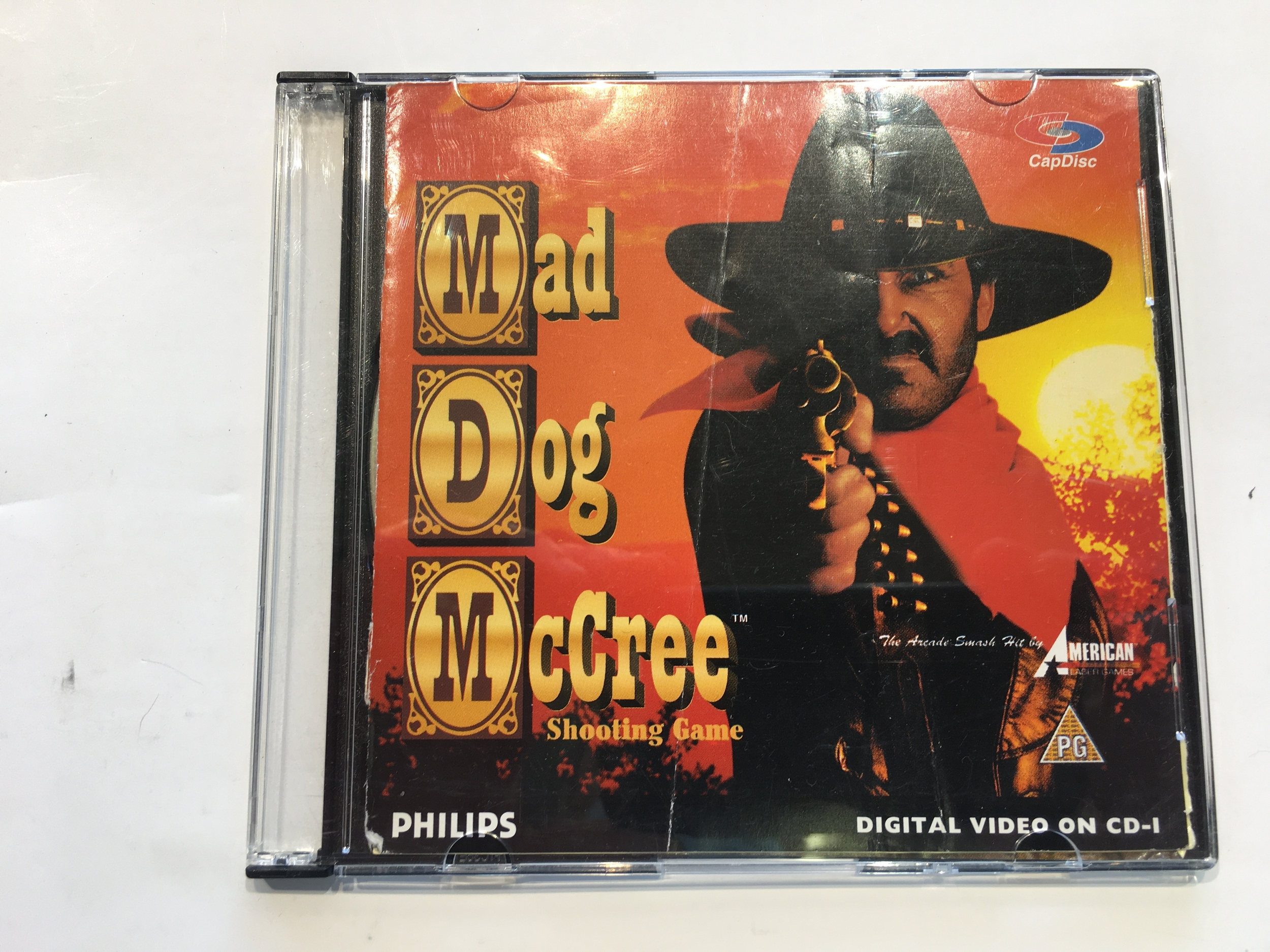 Mad Dogs McCree CD-i