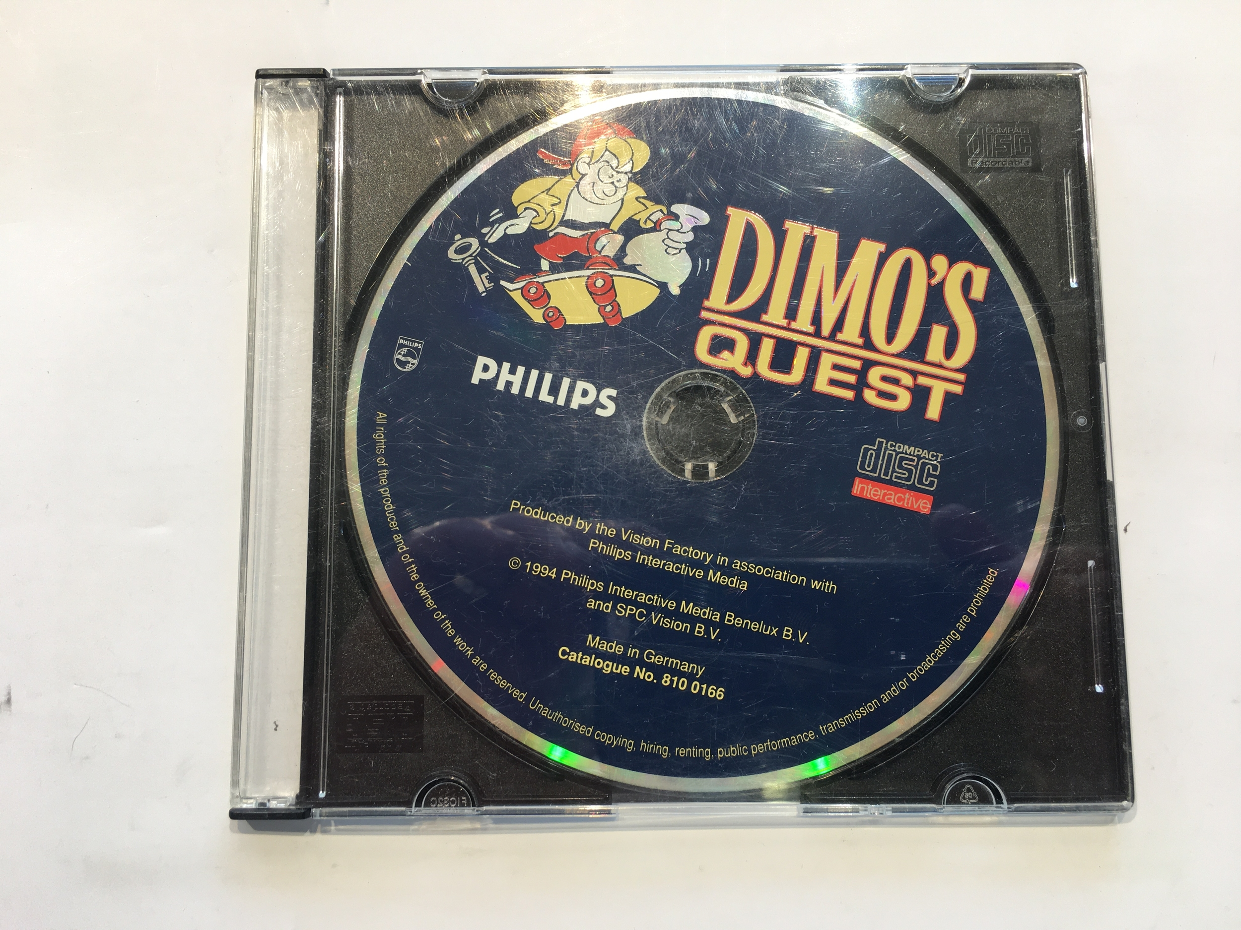 Dimo\'s Quest CD-i