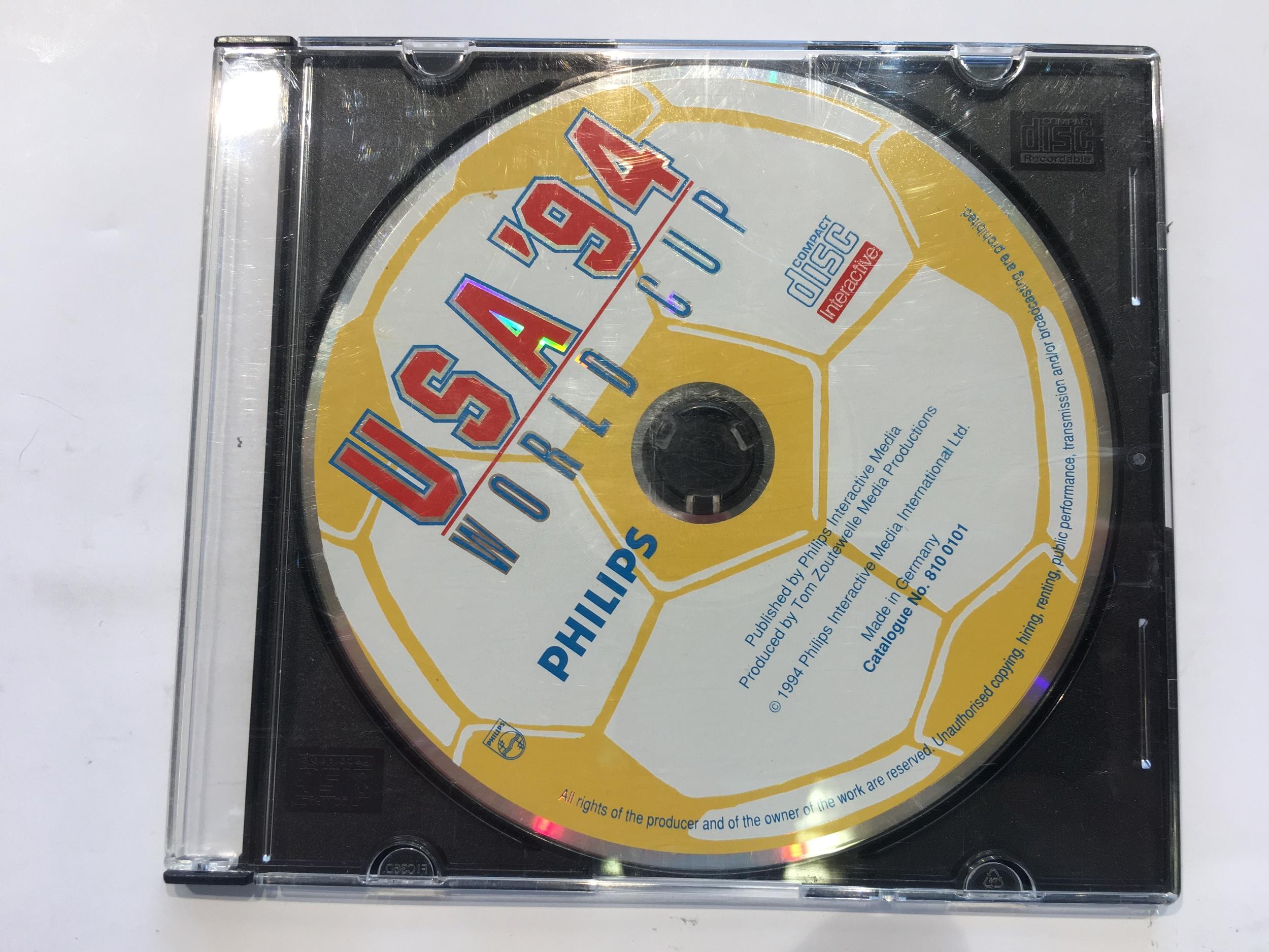 USA 94 World Cup CD-i