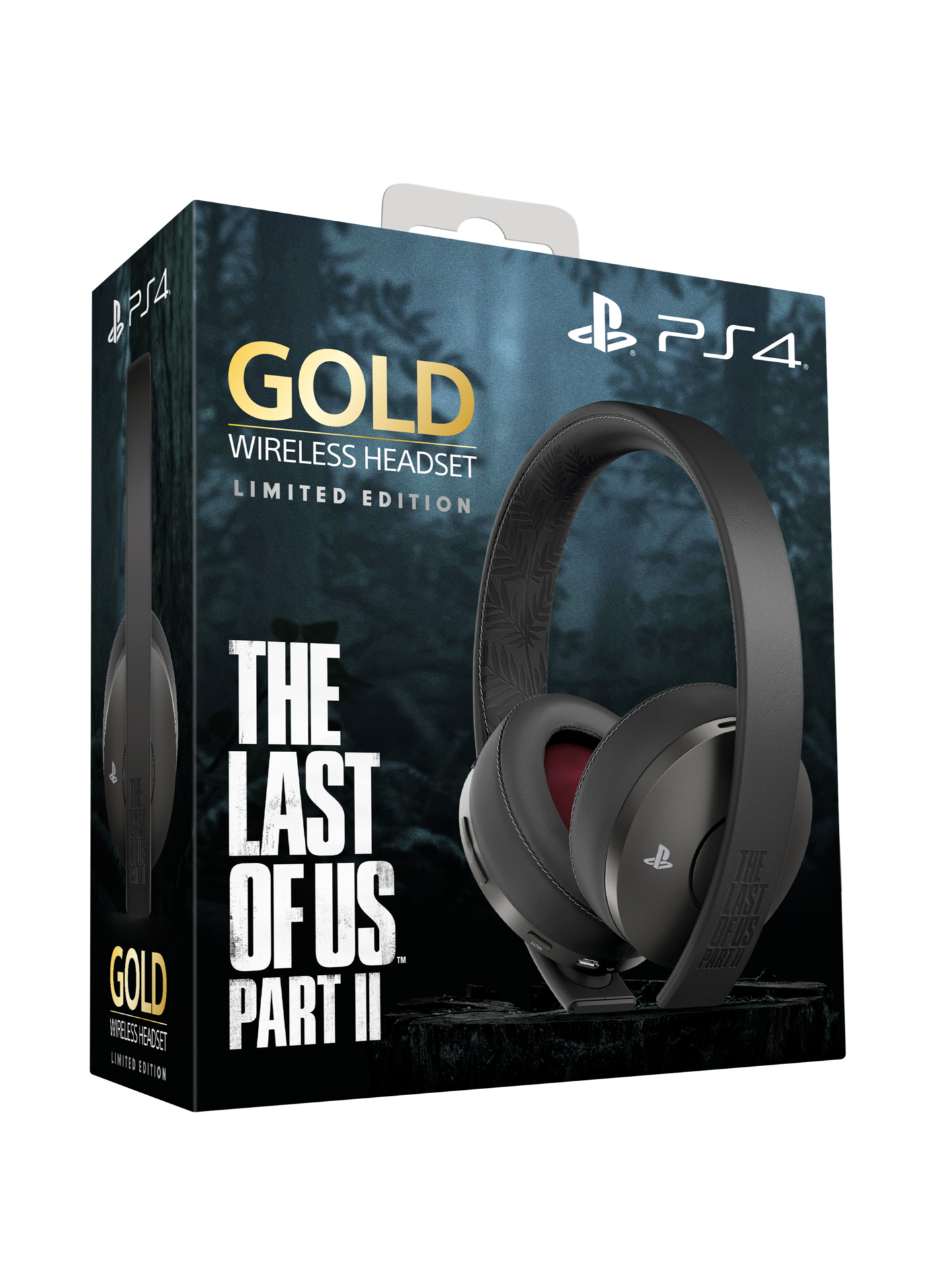 Casque PS4 sans fil Sony Gold The Last of Us Part II