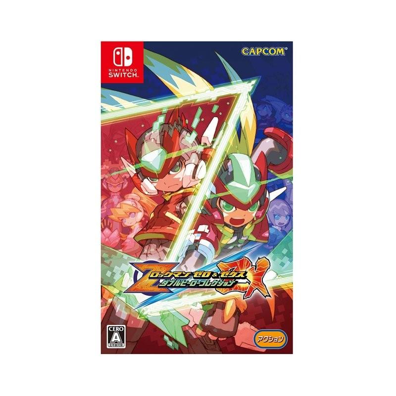 Rockman Zero & ZX Double Hero Collection Nintendo Switch
