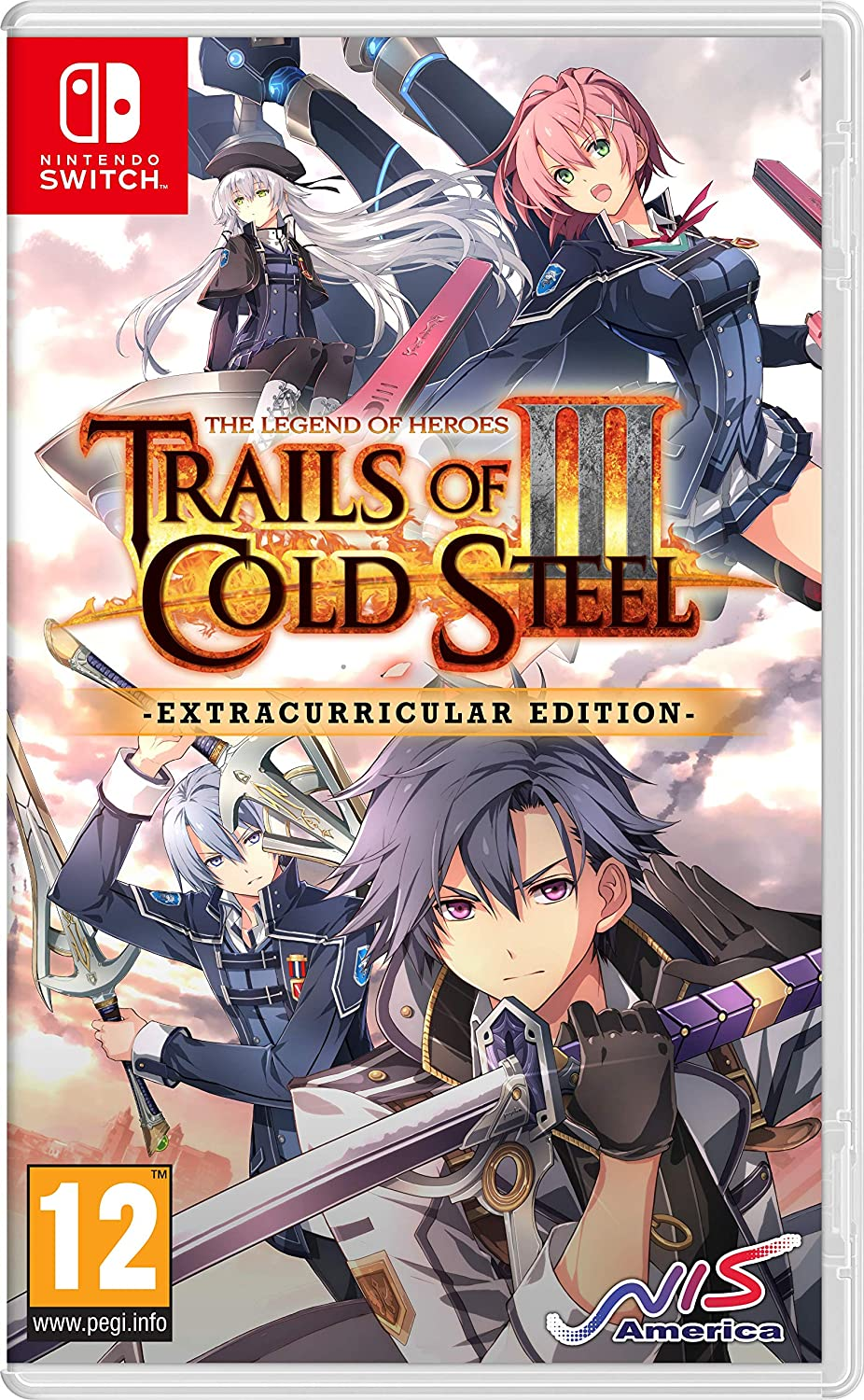 The Legend of Heroes : Trails of Cold Steel III Extracurricular Edition Nintendo Switch