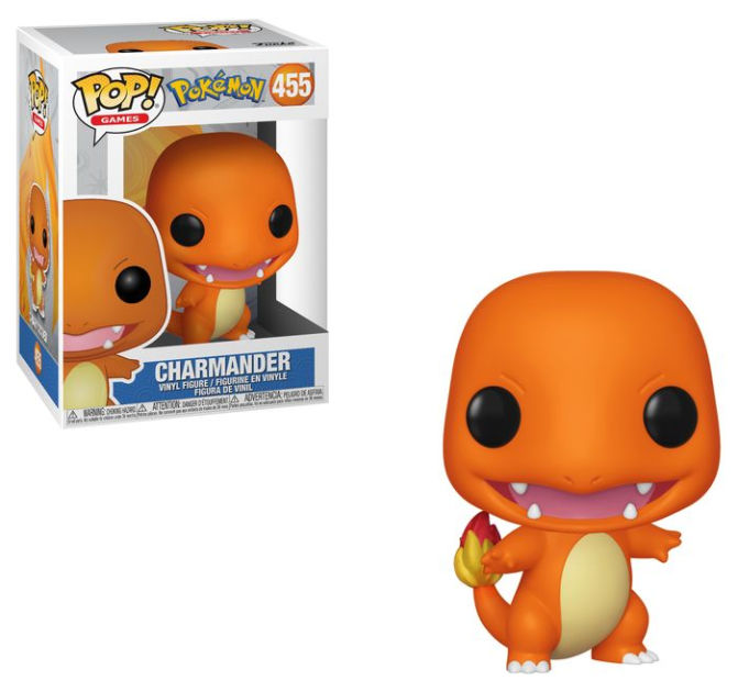 Funko Pop Pokemon 455 Charamander (salamèche) neuf.