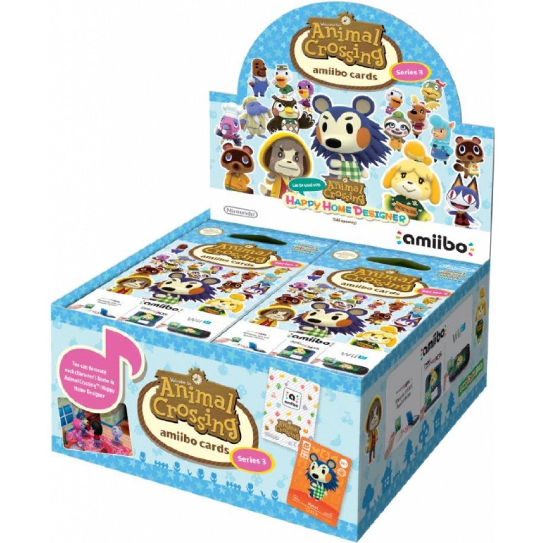Paquet de 3 cartes Animal Crossing Série 3, 4 paquets