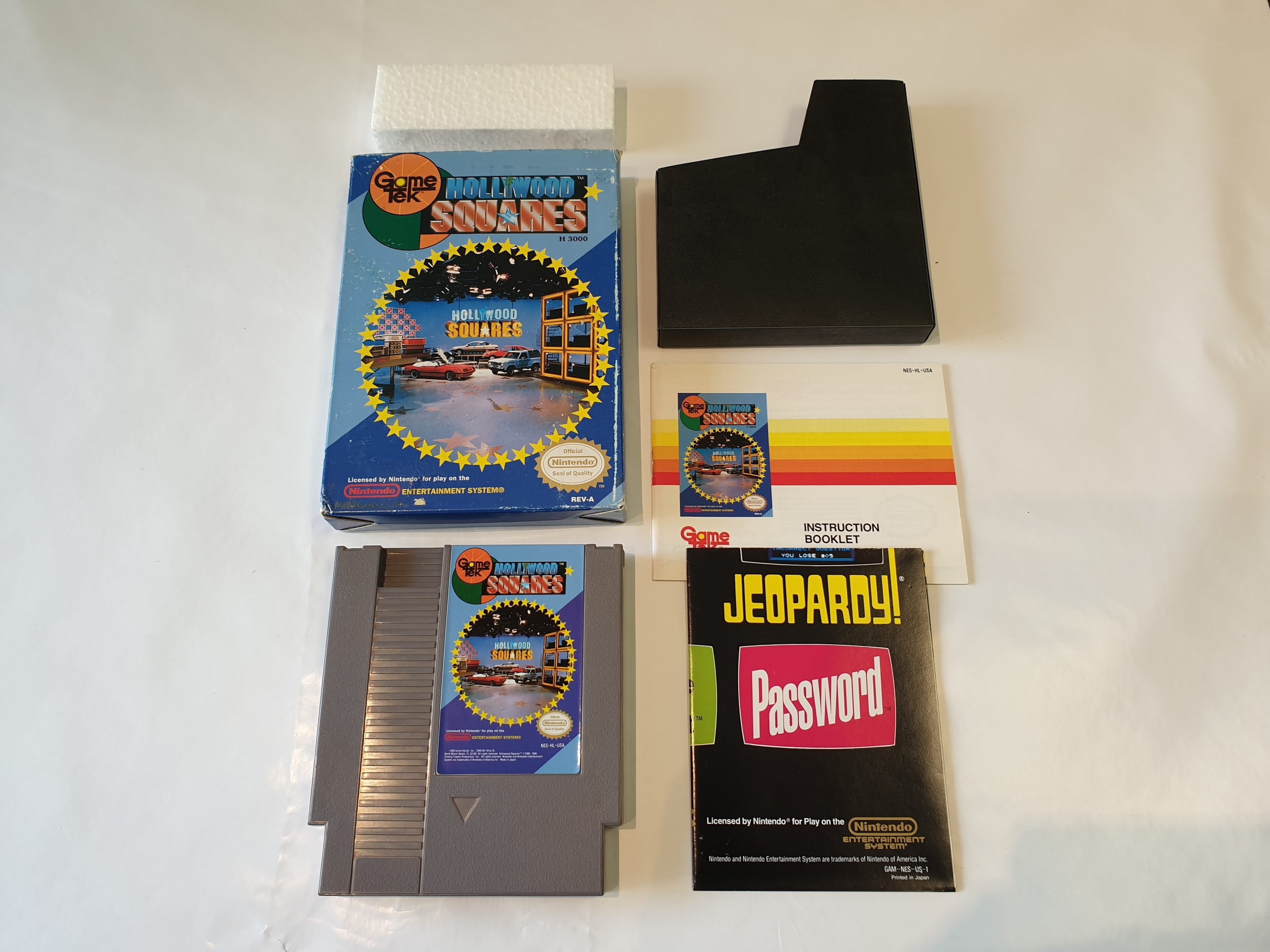 Hollywood Squares occasion Nintendo NES