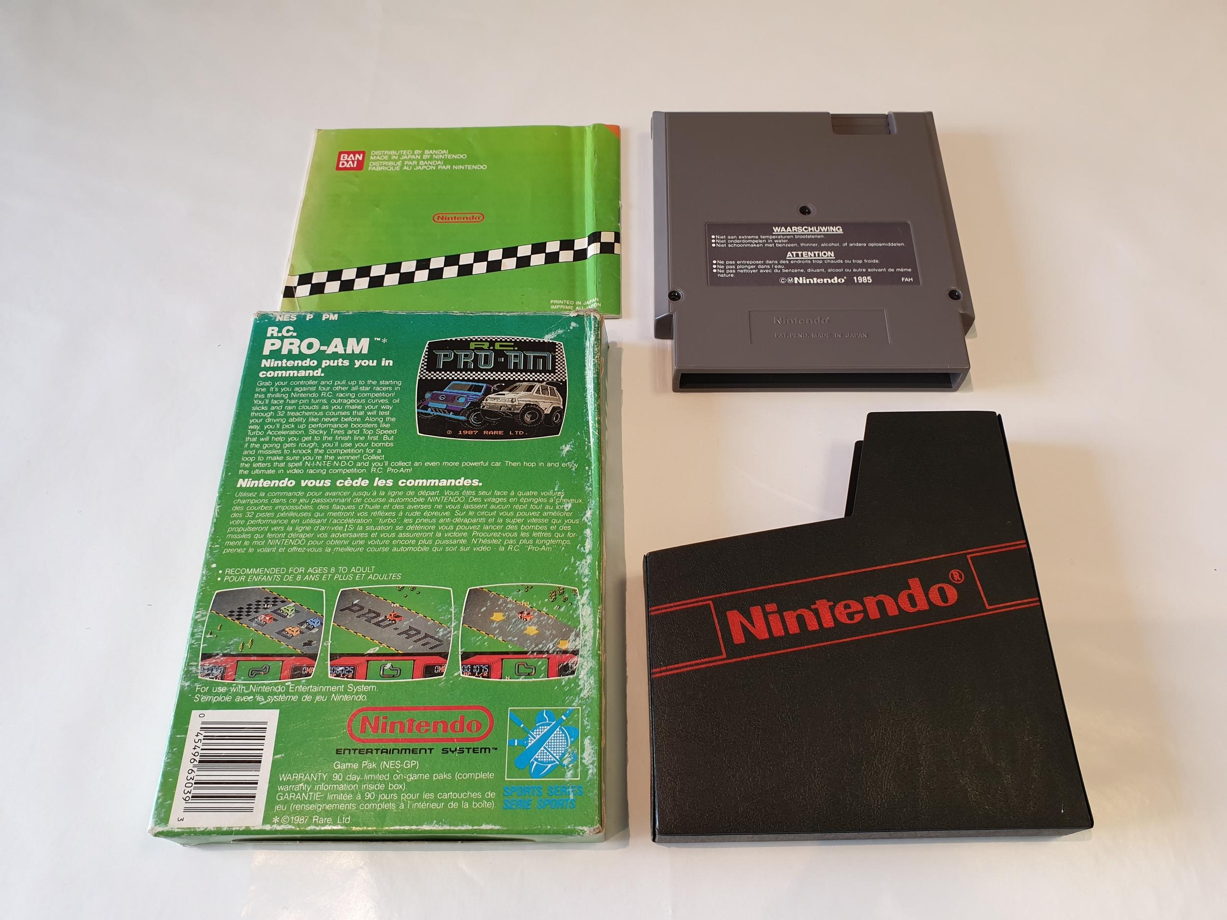 R.C. Pro-Am occasion Nintendo NES