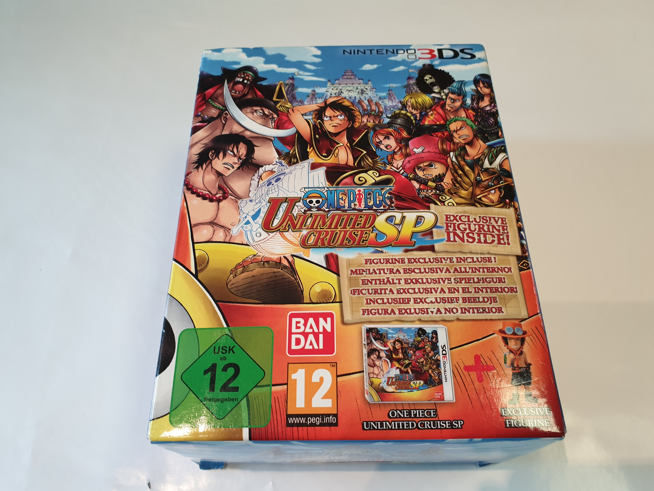 One Piece Unlimited Cruise SP avec figurine - édition exclusive 3DS NEUF