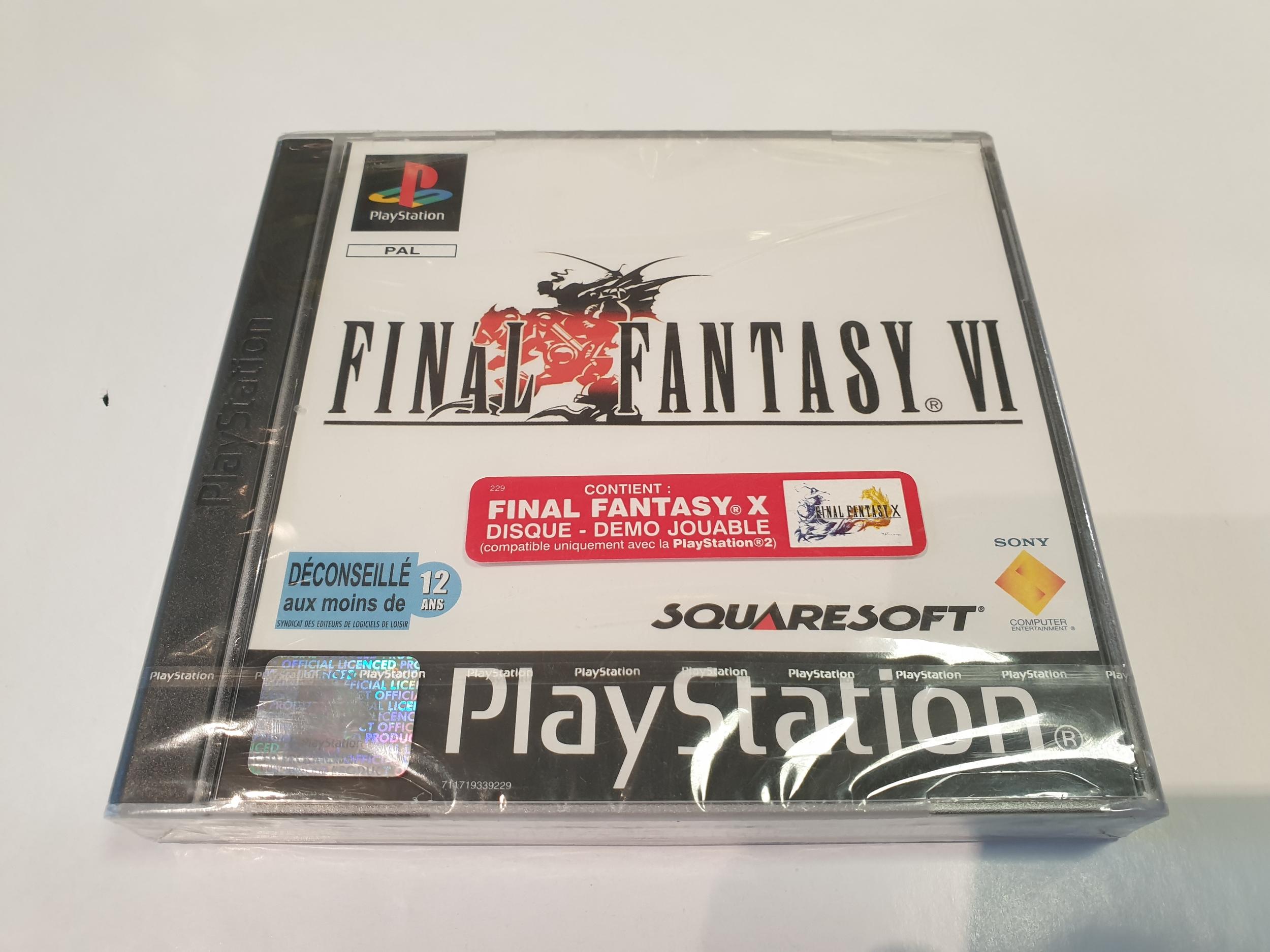 Final Fantasy VI PSX NEUF