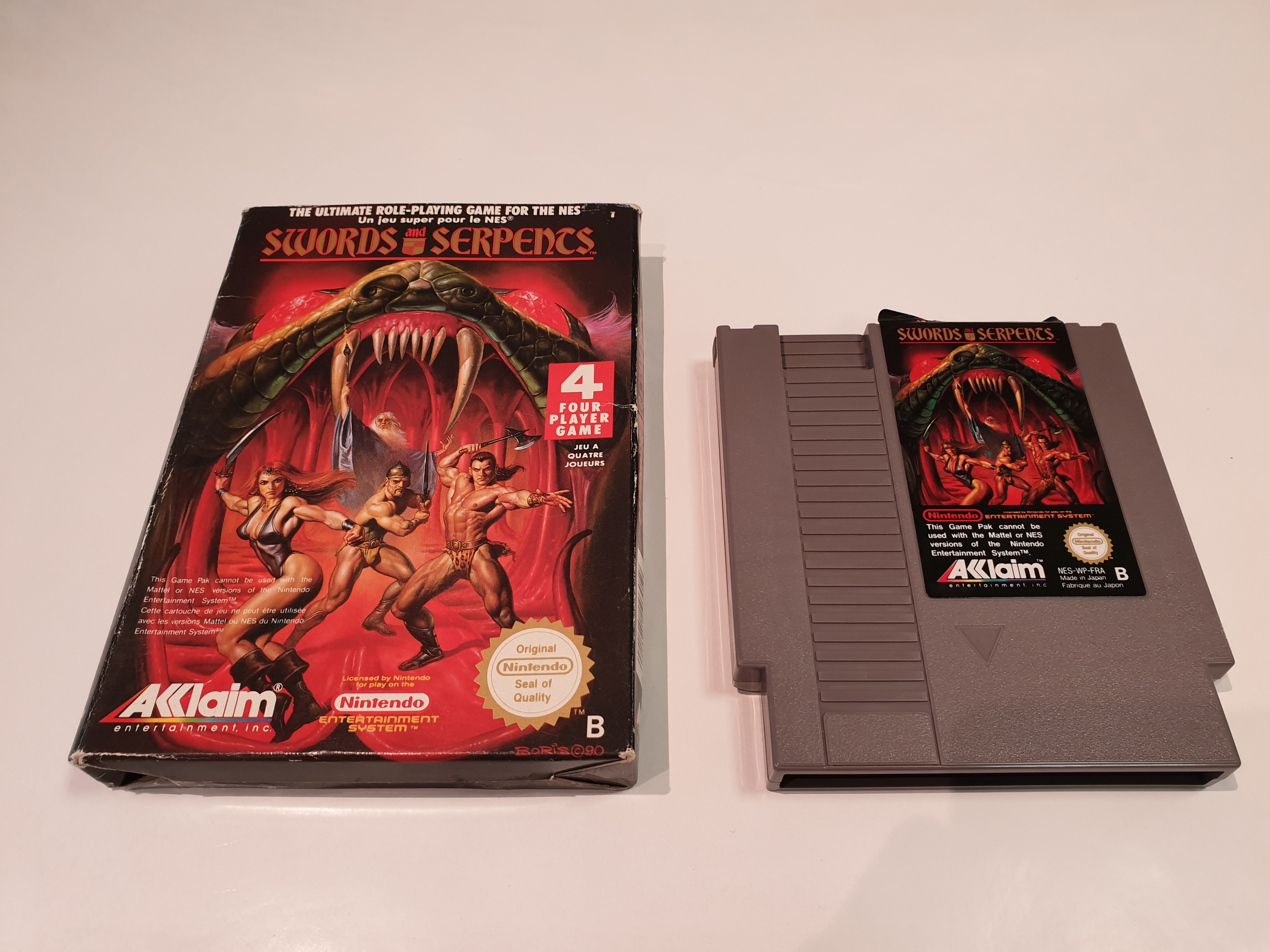 Swords And Serpents Occasion NES