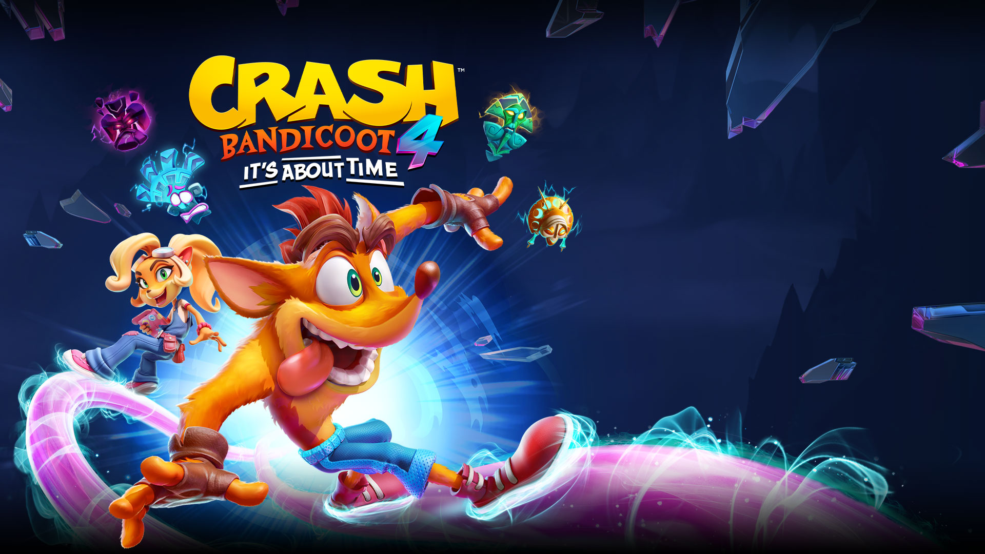 Crash Bandicoot 4 : It\'s About Time Xbox One Neuf