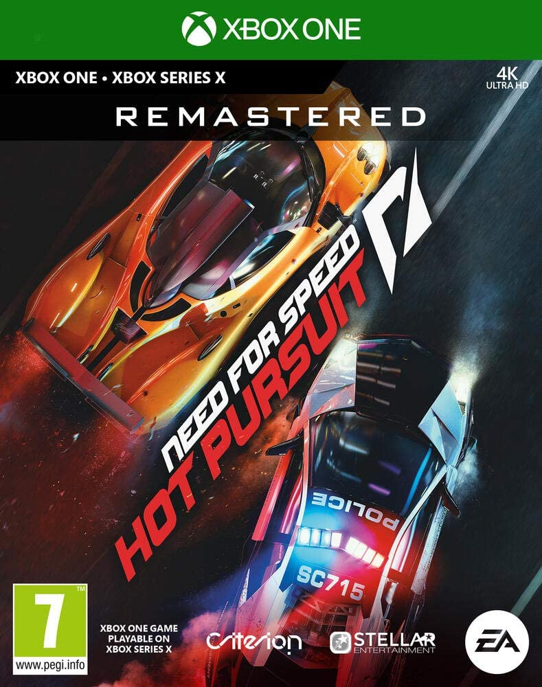 NEED FOR SPEED HOT PURSUIT REMASTERED XBOX ONE/COMPATIBLE XBOX SERIES X
