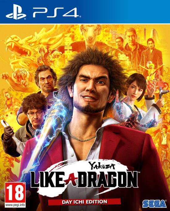Yakuza Like a Dragon PS4